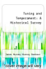 cover of Tuning and Temperament: A Historical Survey