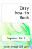 cover of Easy how-to Book