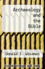 cover of Archaeology and the Bible