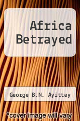 Cover of Africa Betrayed EDITIONDESC (ISBN 978-0312080587)