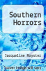 cover of Southern Horrors (1st edition)