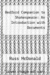 Cover of Bedford Companion to Shakespeare: An Introduction with Documents 2 (ISBN 978-0312237134)