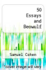 cover of 50 Essays and Beowulf