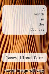 Cover of A Month in the Country EDITIONDESC (ISBN 978-0312546809)