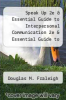 cover of Speak Up 2e & Essential Guide to Interpersonal Communication 2e & Essential Guide to Group Communication 2e (2nd edition)