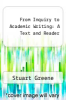 cover of From Inquiry to Academic Writing: A Text and Reader (2nd edition)