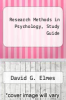 cover of Research Methods in Psychology, Study Guide (4th edition)