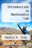cover of Introduction to Bankruptcy Law (2nd edition)