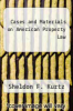 cover of Cases and Materials on American Property Law (2nd edition)