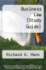 cover of Business Law (Study Guide) (9th edition)