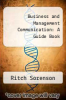 cover of Business and Management Communication: A Guide Book (2nd edition)