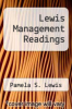 cover of Lewis Management Readings (1st edition)