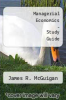 cover of Managerial Economics - Study Guide (7th edition)