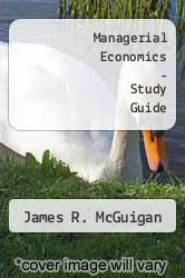 Cover of Managerial Economics - Study Guide 7TH 96 (ISBN 978-0314065162)