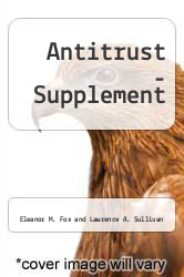 Cover of Antitrust - Supplement 95 (ISBN 978-0314071057)