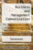 Business and Management Communication by Sorenson - ISBN 9780314072269
