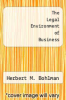 cover of The Legal Environment of Business