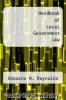 cover of Handbook of Local Government Law