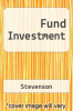 cover of Fund Investment (4th edition)