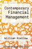 cover of Contemporary Financial Management (2nd edition)