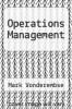 cover of Operations Management (2nd edition)