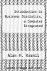 cover of Introduction to Business Statistics, a Computer Integrated (3rd edition)