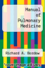 cover of Manual of Pulmonary Medicine (3rd edition)