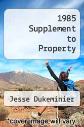 Cover of 1985 Supplement to Property EDITIONDESC (ISBN 978-0316195164)