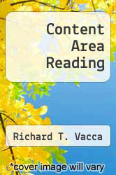 Content Area Reading by Richard T. Vacca - ISBN 9780316894906