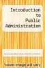 cover of Introduction to Public Administration (2nd edition)