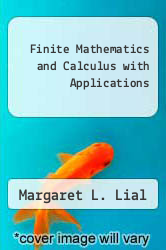 Cover of Finite Mathematics and Calculus with Applications 6 (ISBN 978-0321067159)