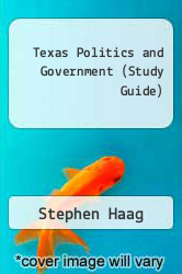Cover of Texas Politics and Government (Study Guide) 2ND 01 (ISBN 978-0321085559)