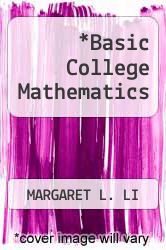 Cover of Basic College Mathematics  (ISBN 978-0321099518)
