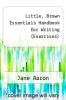 cover of Little, Brown Essentials Handbook for Writing (Exercises) (4th edition)