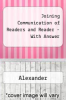 Joining Communication of Readers and Reader - With Answer by Alexander - ISBN 9780321164551