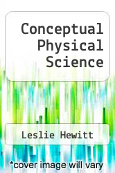 Cover of Conceptual Physical Science 3 (ISBN 978-0321203922)