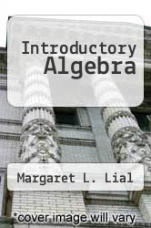 Cover of Introductory Algebra 8 (ISBN 978-0321292247)