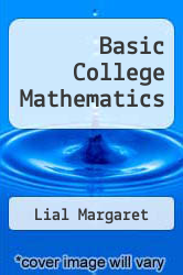 Cover of Basic College Mathematics 7 (ISBN 978-0321292803)