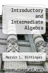 Cover of Introductory and Intermediate Algebra 3 (ISBN 978-0321388247)