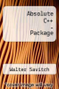 Absolute C++ - Package by Walter Savitch - ISBN 9780321504661