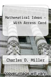 Cover of Mathematical Ideas - With Access Card 11TH 08 (ISBN 978-0321512499)