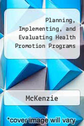 Cover of Planning, Implementing, and Evaluating Health Promotion Programs 5 (ISBN 978-0321542168)