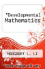 cover of Developmental Mathematics