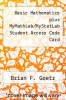 cover of Basic Mathematics plus MyMathLab/MyStatLab Student Access Code Card (1st edition)