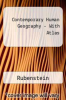 Contemporary Human Geography - With Atlas by Rubenstein - ISBN 9780321648587