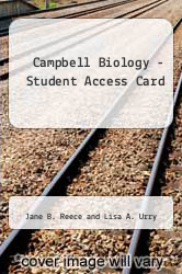 Cover of Campbell Biology - Student Access Card 9TH 10 (ISBN 978-0321683571)