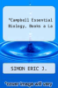 cover of Campbell Essential Biology, Books a La
