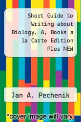 Cover of Short Guide to Writing about Biology, A, Books a la Carte Edition Plus NEW MyCompLab--Access Card Package 8 (ISBN 978-0321953728)