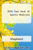 cover of 2000 Year Book of Sports Medicine