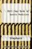 cover of 2001 Year Book of Sports Medicine